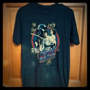 Star Wars Shirts - Vintage StarWars T-shirt. Rare find